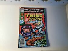 Marvel Two-In-One #81 November 1981 The Thing and Sub-Mariner VG