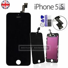 For iPhone 5S SE LCD Display Touch Screen Digitiser Assembly Replacement Black