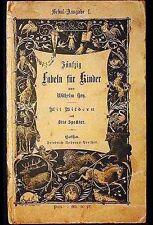 Fünfzig Fabeln für Kinder In Bildern,Gezeichnet [Fifty Fables for Children] 1877