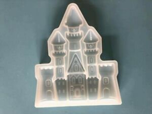 castle silicone mould - cake decorating, chocolate, resin, fimo
