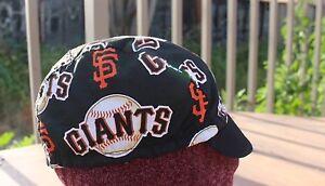 CYCLING CAP MLB SAN FRANCISCO GIANTS 100% COTTON HANDMADE