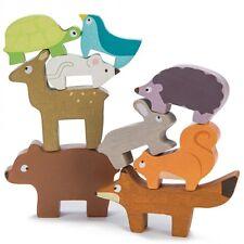 Le Toy Van Foresta Animali impilamento | Animale in Legno Gioco di impilamento | Giocattoli in legno