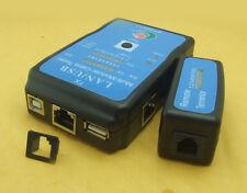 4-in-1 RJ45 RJ11 Cat5e Cat6 USB Plug Printer Network Lan Cable Tester Test Tools