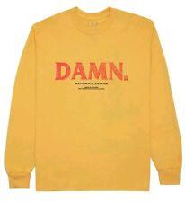 "Limited - Kendrick Lamar ""Kung Fu Kenny"" Gold Long Sleeve Shirt (Medium)"