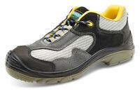 Clic Traders No-Metálico Seguridad Zapatillas Zapatos C/ con Composite Puntera &