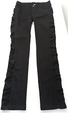 Sample Emily The Strange Black Jeans With Gathered Side detail Size Small