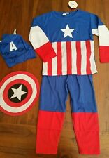 cosplay Captain America costume 4pc sz3 BNWT free post D47