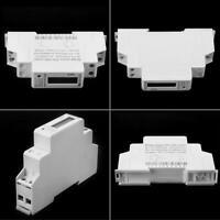 Compteur d'énergie en kWh DDS5188 220V 5-25A monophasé rail DIN 50-60Hz
