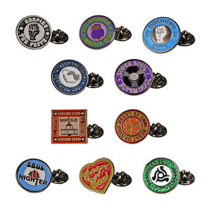 Northern Soul Badges. Metal Enamel MOD Fashion Accessory Gift Idea Carded BADGE