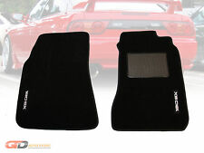 Nissan S13 180SX Custom Made Front Floor Mats 1988-1993 Type X Drift 180 SX LOGO