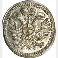 1744-52 B Germany Regensburg Kreuzer. PCGS MS 65. KM-292