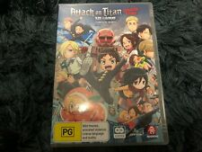 ATTACK ON TITAN JUNIOR HIGH COMPLETE SERIES DVD MADMAN ANIME