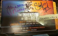 Stewart Copeland Signed The Police Autograph Jonathan Moore COA Proof
