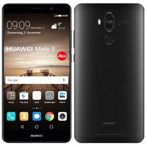 """Huawei Mate 9 Black Dual SIM 64GB 5.9"""" 4GB RAM 20MP Android Phone By FedEx"""