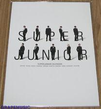 SUPER JUNIOR SuperJunior 2013 SM OFFICIAL DESK CALENDAR + NOTE SEALED
