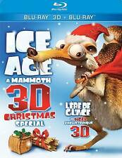 ICE AGE A MAMMOTH 3D CHRISTMAS SPECIAL BLU RAY 3D + BLU RAY NEW! HOLIDAY FUN!
