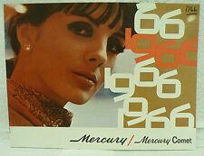 Mercury Comet For 1966 Brochure