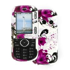 for LG Cosmos Hard Case Cover Purple Flower+Tool