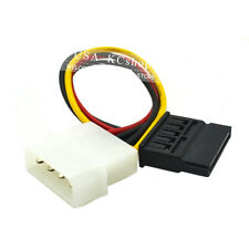 New 4 PIN IDE Molex To Serial 15 Pin SATA Power Adapter cable cord
