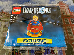 Lego 71340 Dimensions Supergirl Polybag New/Sealed/Retired/Hard to Find