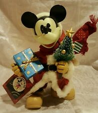 Midwest of Cannon Falls Disney's Santa Mickey With Tree Medium Figure With Tag