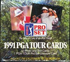 1991 PRO SET GOLF SEALED HOBBY BOX PGA TOUR