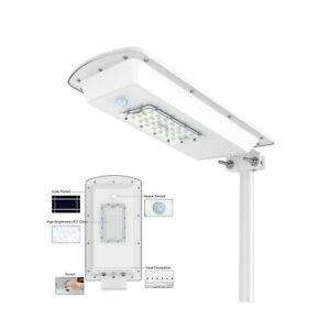 TENKOO Solar Powered Street Light Dusk to Dawn, Lithium Battery -Wireless-Wat...