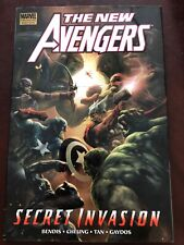 The New Avengers: Secret Invasion Book Hardcover Graphic Novel Signed Tan Cheung