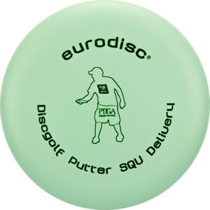 NG - Eurodisc Discgolf Frisbee PUTTER Delivery SQU PDGA approved MINT