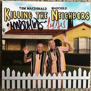 Tom MacDonald & Madchild Signed Killing The Neighbors CD Autographed