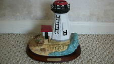 Plymouth Light House in Massachusetts Replica Partylite Exclusive (#0603)