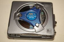 SHARP MD-SS312-H 312 MD MiniDisc player TESTED WORKING