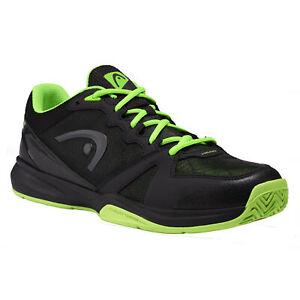 Head Revolt Black Mens Indoor Court Shoes