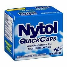 Nytol Nighttime Sleep Aid Quick Capsules 32ct -Expiration Date 05-2019-