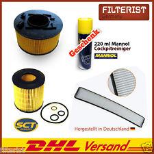 Intérieur Filtre pollen filtre BMW e46 316 I + filtre à air + filtre à huile + cadeau