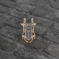 Lovely Beetle Insect Shaped Enamel Brooch Pin Badge Fashion Jewelry Kids Gift