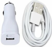 Charging / Sync Kits - Cord + Fast USB Car Charger for iPhone X 8 7 6s 6 5s 5 5c