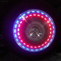Color Wheel Tire Rim Light Solar Energy Car Valve Cap 15 Mode LED Flash Lamp