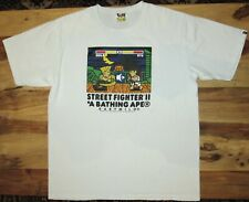 A Bathing Ape Bape Street Fighter II T-Shirt 2012 Authentic Babymilo Guile Ryu