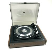 Vintage Panasonic SL-507 Automatic Turntable Woodgrain (No Cartridge)