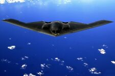 New 8x11 Photo: Northrop Grumman B2 Spirit Stealth Bomber Fighter Aircraft Jet