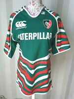 Leicester Tigers Home Shirt - UK 2XL - Rugby Union - CAT - 2012 2013 - Excellent