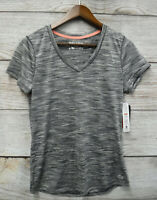 RBX Active Shirt Womens Size XL Grey Wicking Stretch Athletic Shirt New
