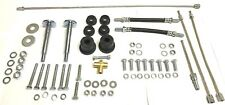 CLASSIC MINI COMPLETE REAR SUB FRAME FITTING KIT BOLTS, BUSHES, UNION, HOSES 7D9