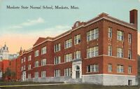 Mankato~Minnesota State University (Normal School)~Long Building c1910 SHARP!
