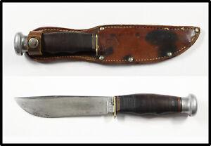 Vintage RARE 1930-1950 KA-BAR UNION CUTLERY OLEAN NY hunting knife BOY SCOUTS