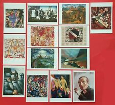Set of 13 New Art Postcards, A Bitter Truth: Avant-Garde Art & The Great War WW1