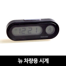 Digital LED Alarm Clock for Car Electronic Clock Car Thermometer Watch Timer
