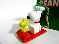 Snoopy Peanuts Charlie Brown Willitts Christmas Ornament Figure Figurine 1991