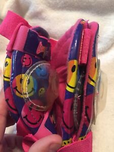 Vintage Lisa Frank Knee And Elbow Smiley Face Pads New Old Stock No Box